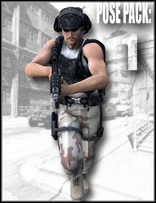 Combat Specialist: Poses For The Modern Warrior. (Pose Pack 1)