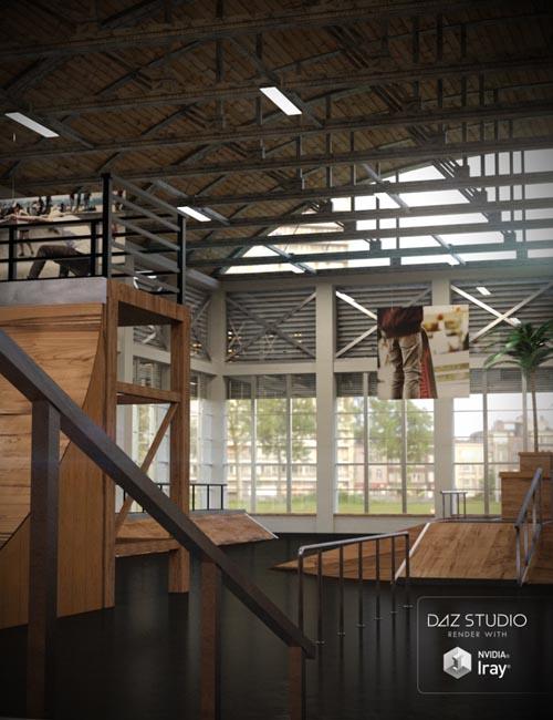 Indoor Skate Park