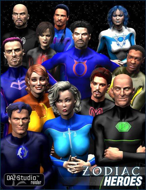 Zodiac Heroes