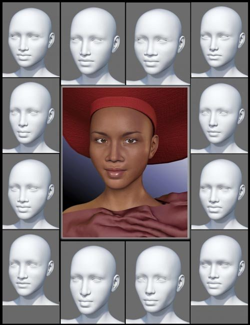 People of Earth: Faces of Africa Genesis 3 Female