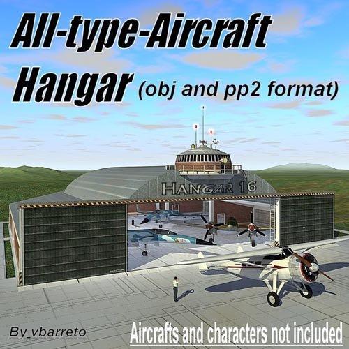 Aircrafts hangar