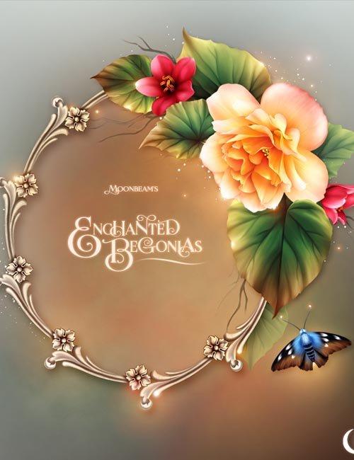 Moonbeam's Enchanted Begonias