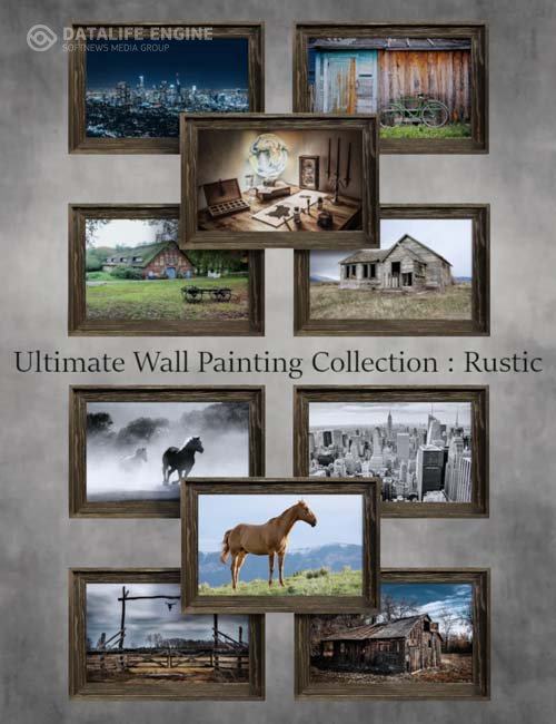 Ultimate Wall Painting Collection: Rustic