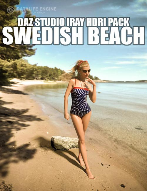 Swedish Beach - Daz Studio Iray HDRI Pack