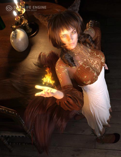 FE Fantasy Hair Vol 1 for Genesis 8 Females