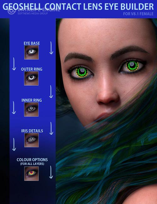 Geoshell Contact Lens Builder for Victoria 8.1