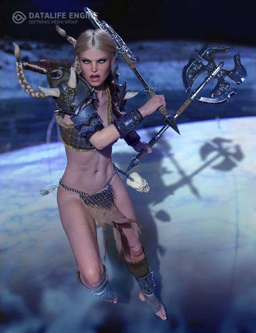 dForce Barbarian Queen Outfit for Genesis 8 Female(s)