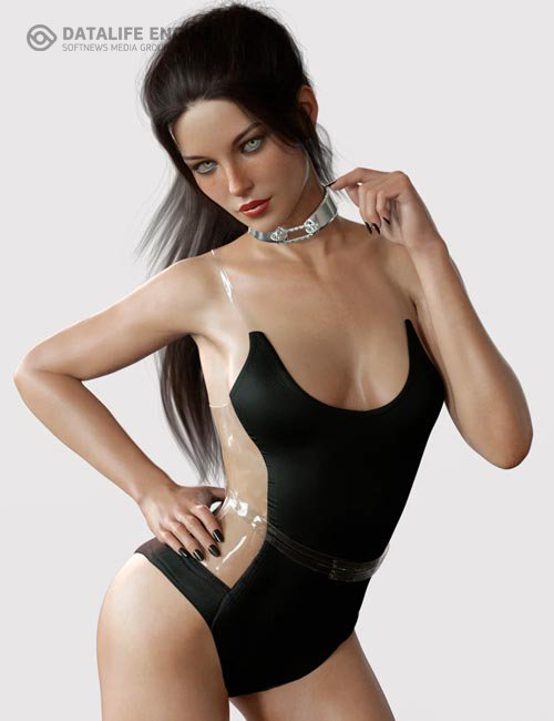 X-Fashion Andromeda Bodysuit for Genesis 8 Female(s)
