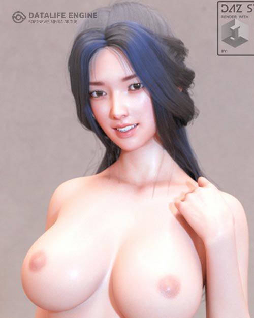 Shinzui Hanabi For Genesis 8 Female
