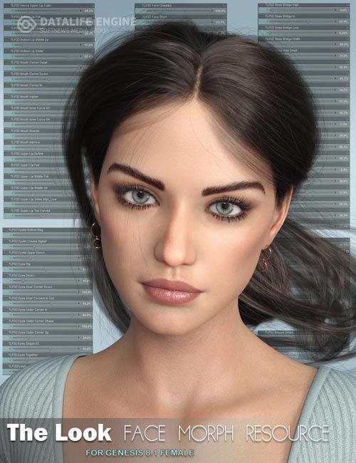 The Look Face Morph Resource for Genesis 8.1 Females