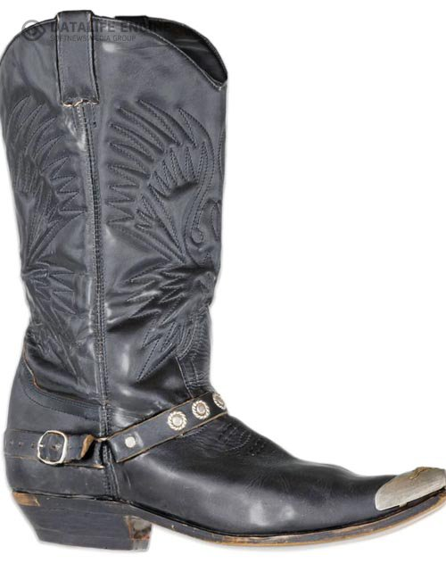 Cowgirl Leather Boots for Genesis 8 Female