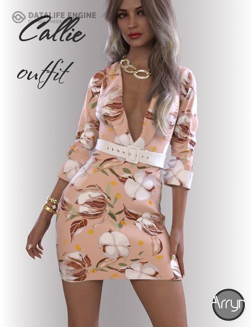 dForce Callie Outfit for Genesis 8.1 Females