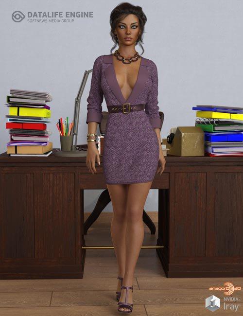 VERSUS - dForce Callie Outfit for Genesis 8.1 Females